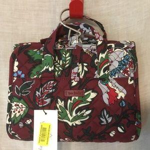Vera Bradley Iconic Compact Hanging Travel Bag